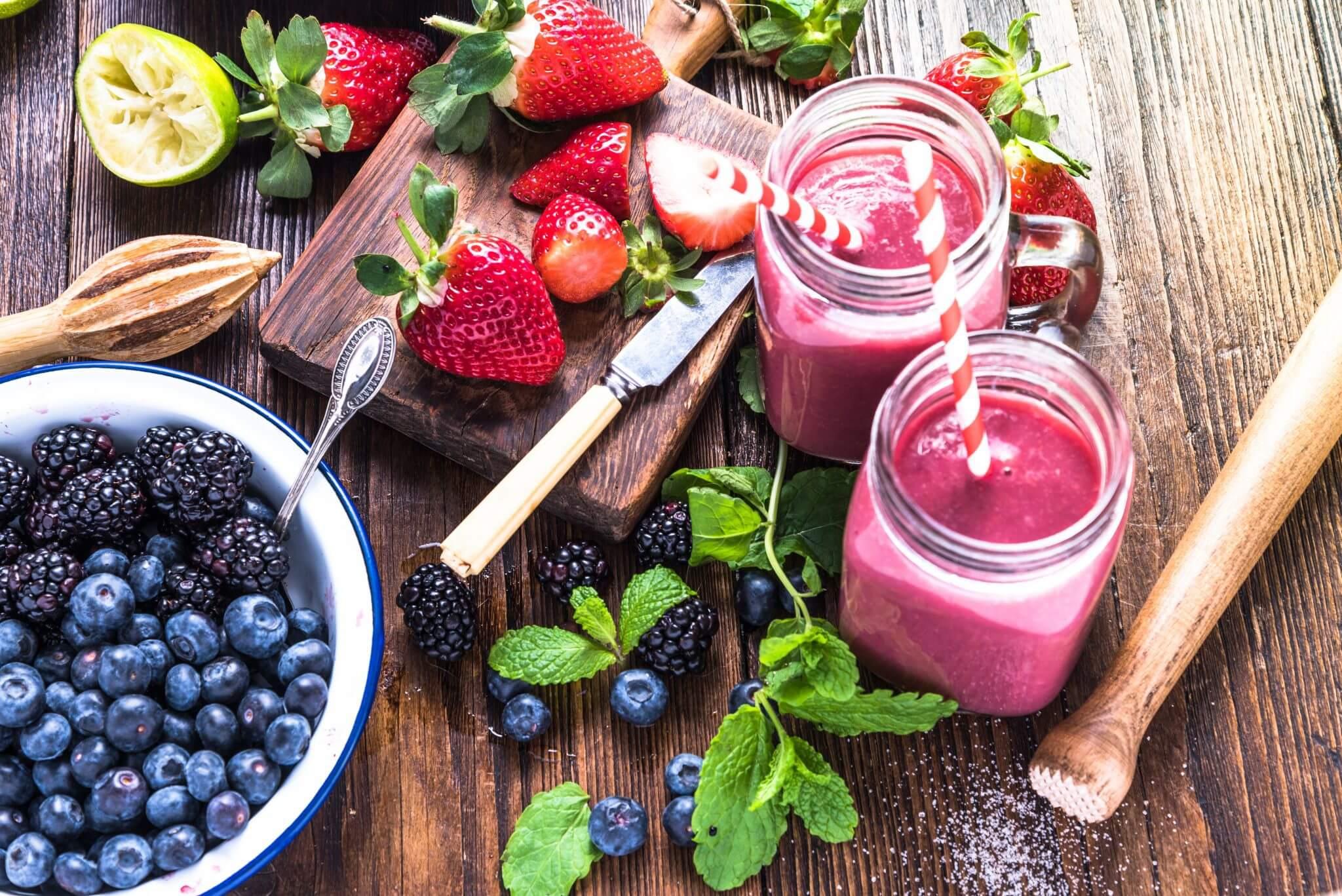 Berry Smoothies