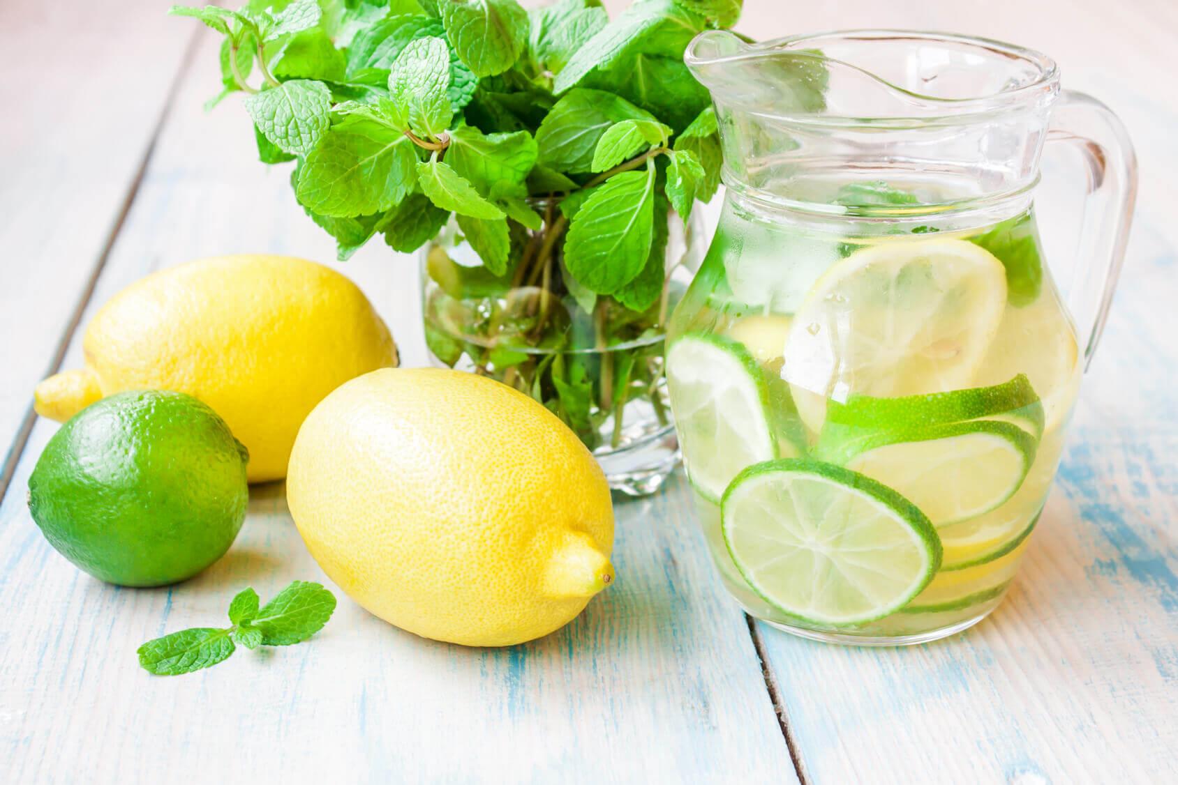 Lemon Detox Water Recipes