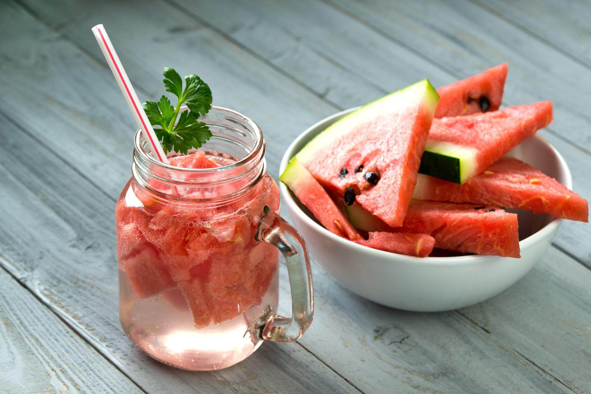 Watermelon detox water recipe